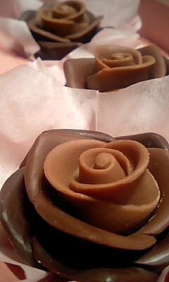 チョコの花